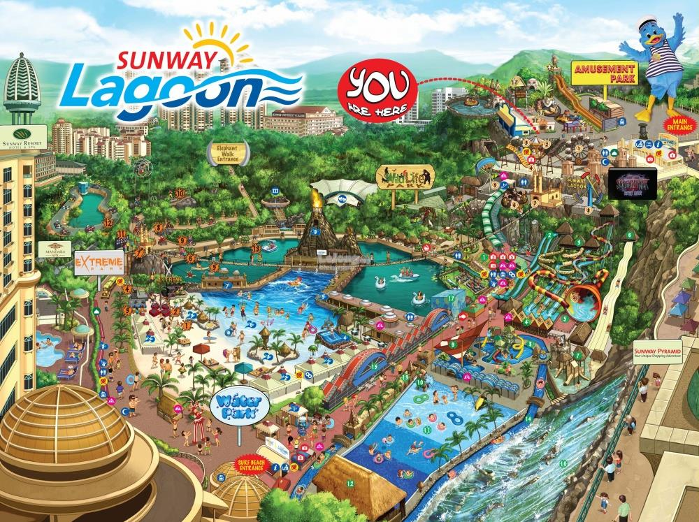 Sunway Lagoon World Avenues Travel Packages
